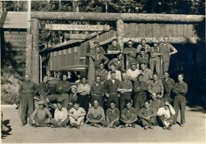 CCC men at Camp Narada