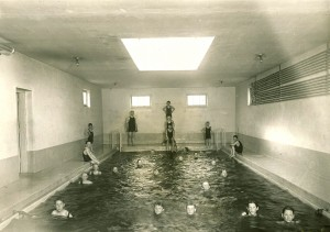 Eatonville was one of the rare schools to have a pool in 1915