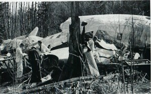 Inspections made at the crash site.