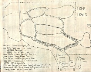 Map of Northwest Trek #1, 1977
