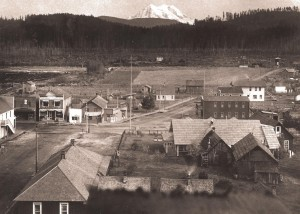 Downtown Eatonville - 1913