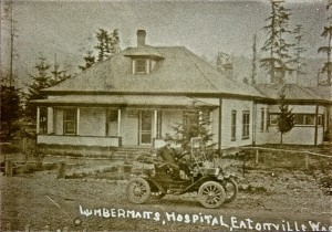 Lumberman's Hospital (across from high school)