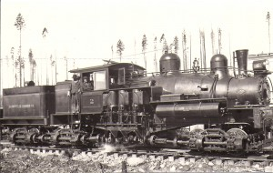 Locomotive for Eatonville Lumber Co. -  ca. 1920