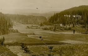 View of Ohop Valley