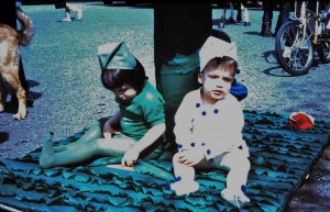 Christy Van Cleve and Lincoln Mettler in the 1967 Pet Parade