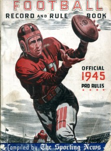 1945 Official Football Rule Book
