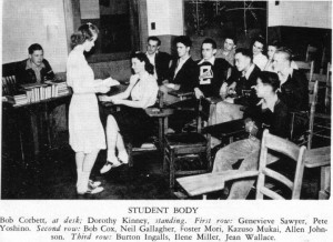 Eatonville 1941 student body officers