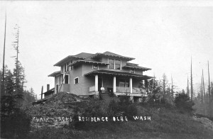 Adam Sachs's home located in Elbe, WA