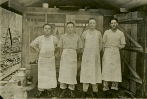 Cooks at the Lumber camp