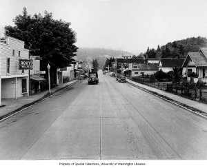 Mashell Ave around 1941