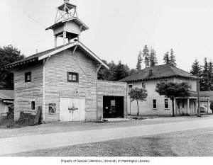Eatonville Fire House and City Hall (ca. 1940s)