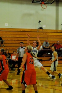 EHS Girls basketball - 2011