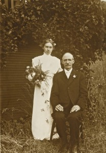 Emma Boettcher (sister of Ernest) and Robert McGilvery