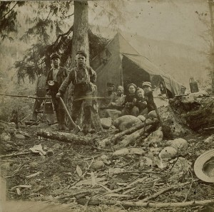Camping in 1898