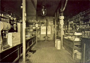Christenson's General Store (later Red & White & parking lot)