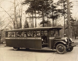 Eatvonille School bus (1920s)