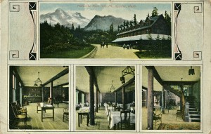 National Park Inn postcard 1912