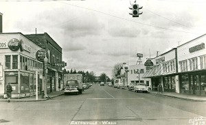 Mashell Ave. & Red and White Store - ca. 1955