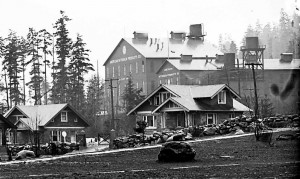 Nitrogen Plant and Chimney-free homes at LaGrande (ca. 1912)