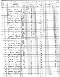 Class Roster - 1941-42