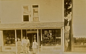 The Pour House when it sold candy in 1916
