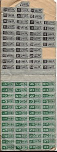 June Duffy's war ration book four - pg 2