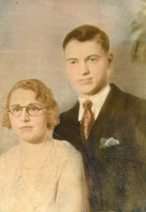 Mrs Meredith and son. They ran the  Eatonville Hotel