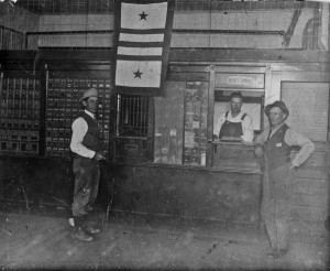 US Post Office during WWI,