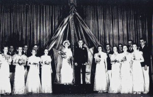 The 1937 May Day Court