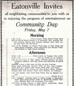 1937 May Day Program - Page 1