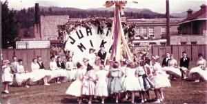 May Pole dance 1950s