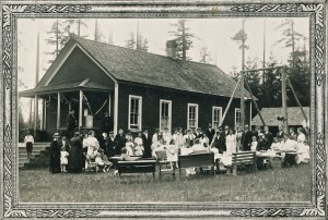 Graduation at Old Clear Lake School