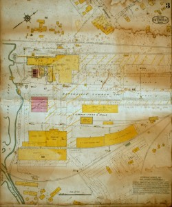 1914 Map of Eatonville - Mill