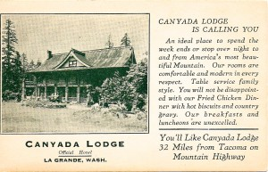 Canyada Lodge Ad