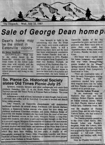 George Dean article - Page 1