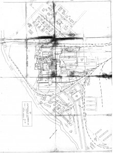 Layout of the Eatonville Lumber Mill