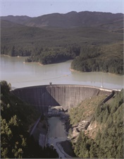 Current Alder Dam - 1,600 feet long