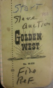 Golden West Cover 1953