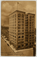 The Fidelity Trust Building, located at 949-55 Broadway, was built in 1890 and demolished in 1949.