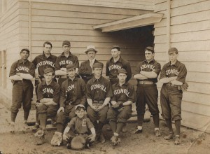 Eatonville Baseball Team (early 1900s)
