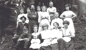 1911 Staff of Camp in the Clouds