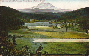 Postcard Of Ohop Valley (early 1900s)