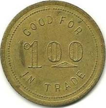 C.C. Ketchum Token from National