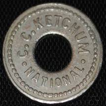 C.C. Ketchum Token from National #2