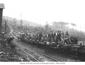 National Loggers - photo from UofW Library