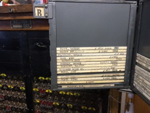Eatonville Switchboard - the Bs