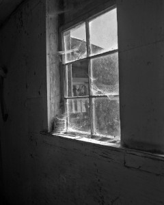 The day we moved the Old Man off the farm, I took one last look around when we were finished. This is the last photo I took of the barn.Barn Window Ohop
