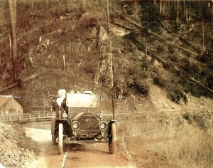 1909 Drive Down Canyon Road