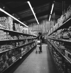Shopping at Parnell's 1965