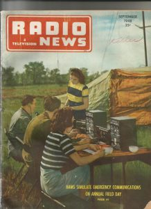 Radio News cover 1948